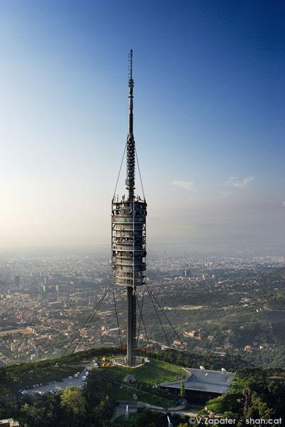 Torre de Collserola. Collserola Tower, Barcelona